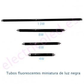 Tubo Fluorescente Miniatura T5 Luz Negra BLB