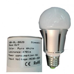 Bombilla Led 6W Dimmable