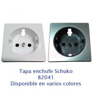 Tapa Para Enchufe Schuko