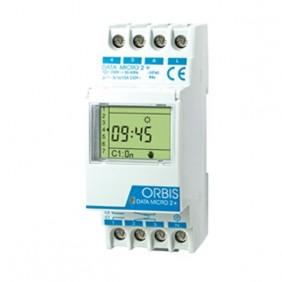 Interruptor Horario Digital Orbis DATA MICRO + y DATA MICRO 2+