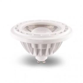 Bombilla LED AR111 10W GU10. Cálida