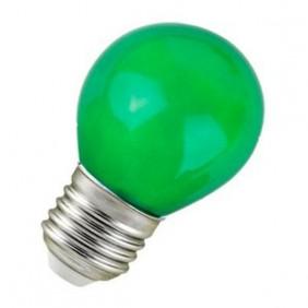 B. Esférica 250V 25W E27 Verde