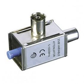 Atenuador Variable 20dB IEC