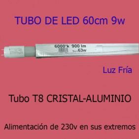 Tubo Led 9w 6000ºK 900Lm RML