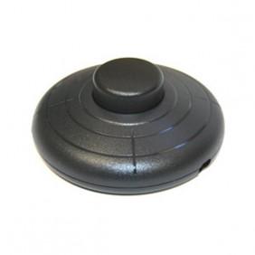 Interruptor de Pie Negro 6A