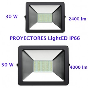 Proyector LED 30w-50w IP66