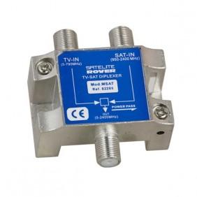 Mezclador Diplexor TV/SAT MSAT Lte