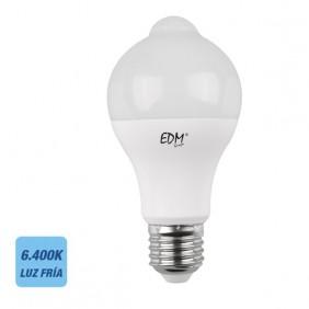 Bombilla LED Sensor Crepuscular y Presencia