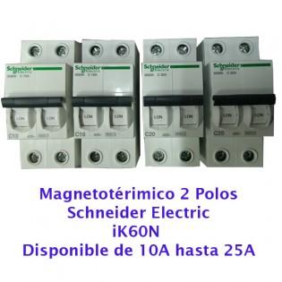 Magnetotérmico BIPOLAR (Schneider)