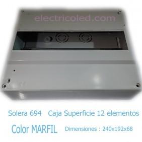 Caja Distribucion 12 modulos