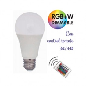 Bomb. RGB+W con Mando 9w 700Lm