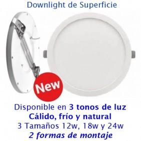 Downlight LED Superfice Monet