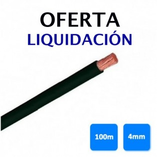 Rollo 100 Mts 4mm Unifilar Flexible