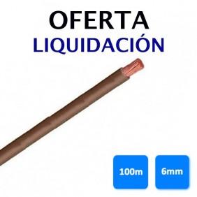 Rollo 100 Mts 6mm Unifilar Flexible
