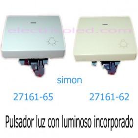 """Pulsador """"Luz"""" Con Visor"""