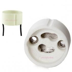 portalamparas-ceramico-gu10-25cm-teflon-electricoled