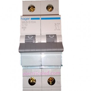 Int. Automático Magneto 1P+N 10A