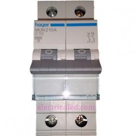 Int. Magnetotérmico 2P 10A (Hager)