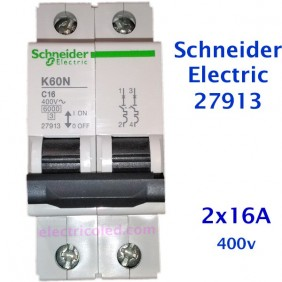 Int. Magnetotérmico 2P (Schneider)