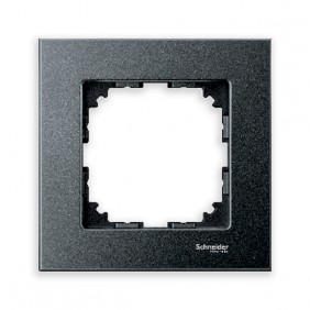 Marcos Aluminio/Antracita 1 elemento