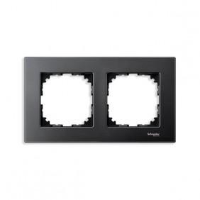 Marcos Aluminio/Antracita 2 elementos