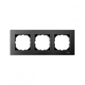 Marcos Aluminio/Antracita 3 elementos