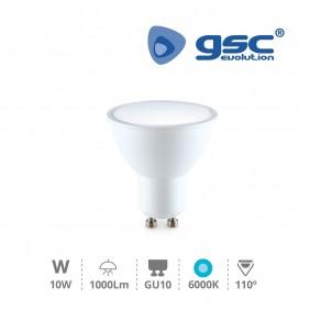 Dicro LED GU10 10w Fría