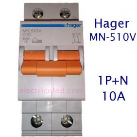Int. Magnetotérmico 1P+N (Hager-Naranja)