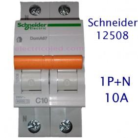 Int. Magnetotérmico 1P+N (Schneider-Domae)