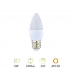 Vela LED 6W E27 Cálida
