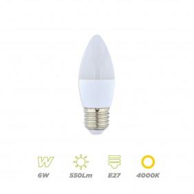 Vela LED 6W E27 neutra