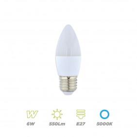 Vela LED 6W E27 fria