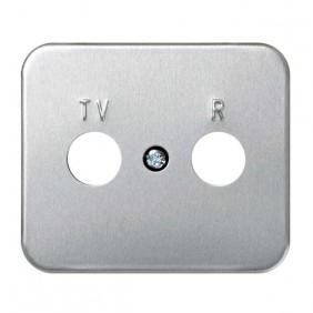 Placa Toma TV-R 6 Colores