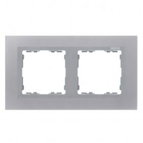 marco-2-elementos-simon-82-nature-metal-aluminio-82927-33-electricoled
