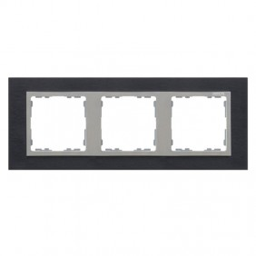 marco-3-elementos-simon-82-nature-gama-metal-inox-negro-aluminio-82937-38-electricoled