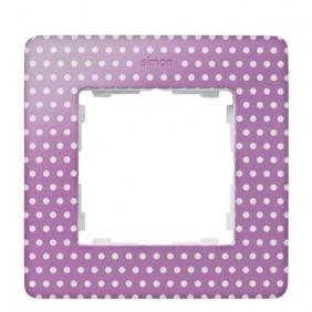 marco-1-elemento-simon-82-detail-original-imagine-8200610-213-topos-rosa-pastel-electricoled