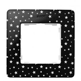 marco-1-elemento-simon-82-detail-original-imagine-8200610-222-estrellas-negro-electricoled