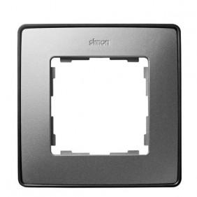 marco-1-elemento-simon-82-detail-select-color-metalizado-8201610-293-aluminio-frio-base-grafito