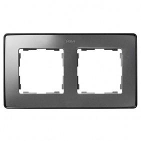marco-doble-simon-82-detail-select-color-metalizado-8201620-293-aluminio-frio-base-grafito