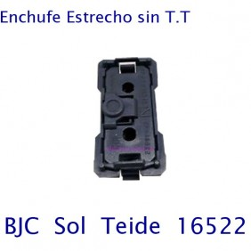 Base Enchufe 10A 2P (Estrecha)