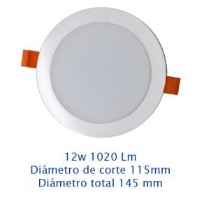 Downlight Led 12w 6000K 1020Lm