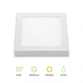 plafon led square 24w 4000K LightED 67177