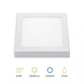 plafon led square 24w 6000K LightED 67178