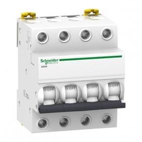 Interruptor Magnetotérmico 4P C 32A Schneider A9K17432