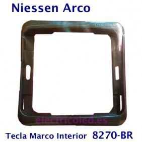 Marco Tecla Intermedia Arco Color Niessen 8270 BRONCE