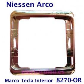 Marco Tecla Intermedia Arco Color Niessen 8270 ORO BRILLO