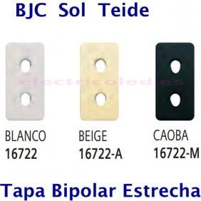 Tapa Base Enchufe 2P Estrecha