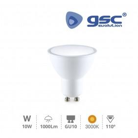 Bombilla LED GU10 10w 3000K