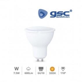 Bombilla LED GU10 7,5w 3000K