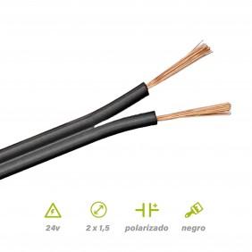 Paralelo Negro Polarizado 2x1.5 POR METROS